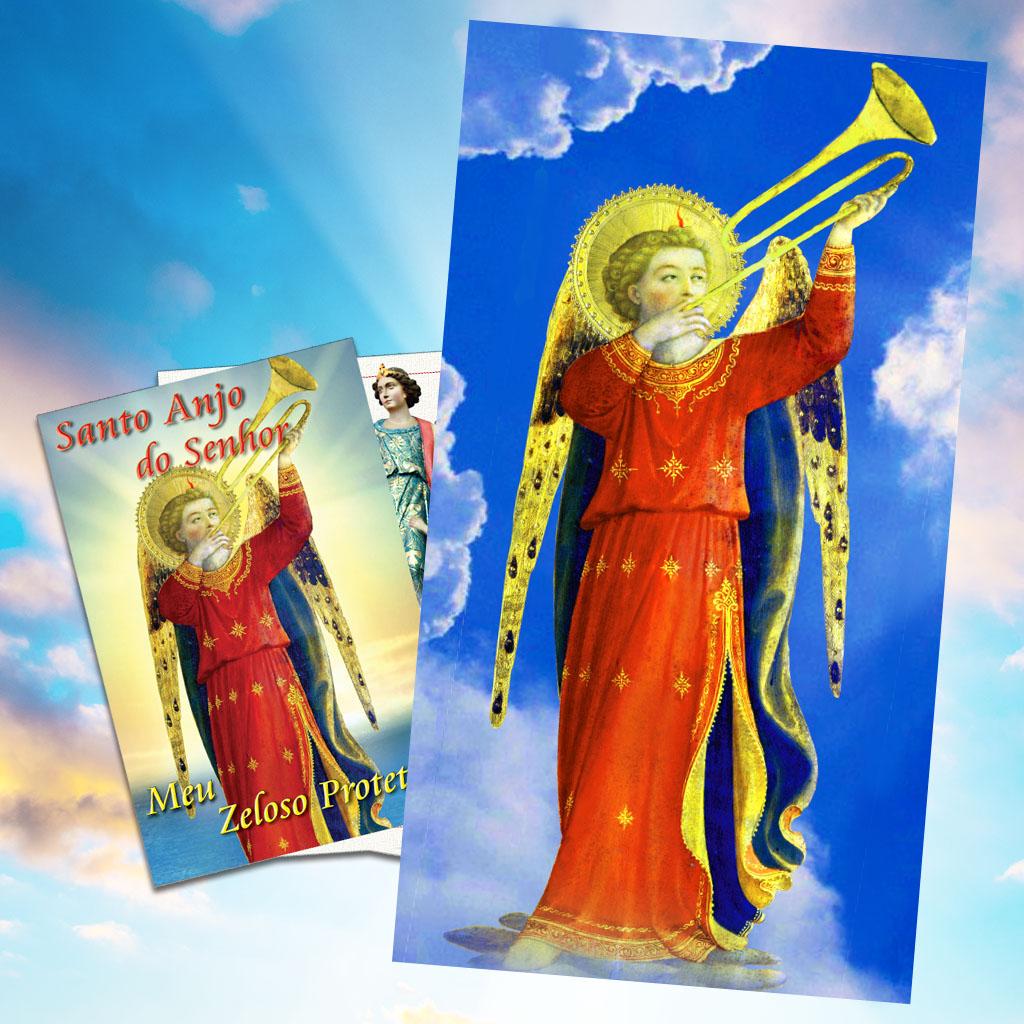 Poster e o livro do Anjo da Guarda