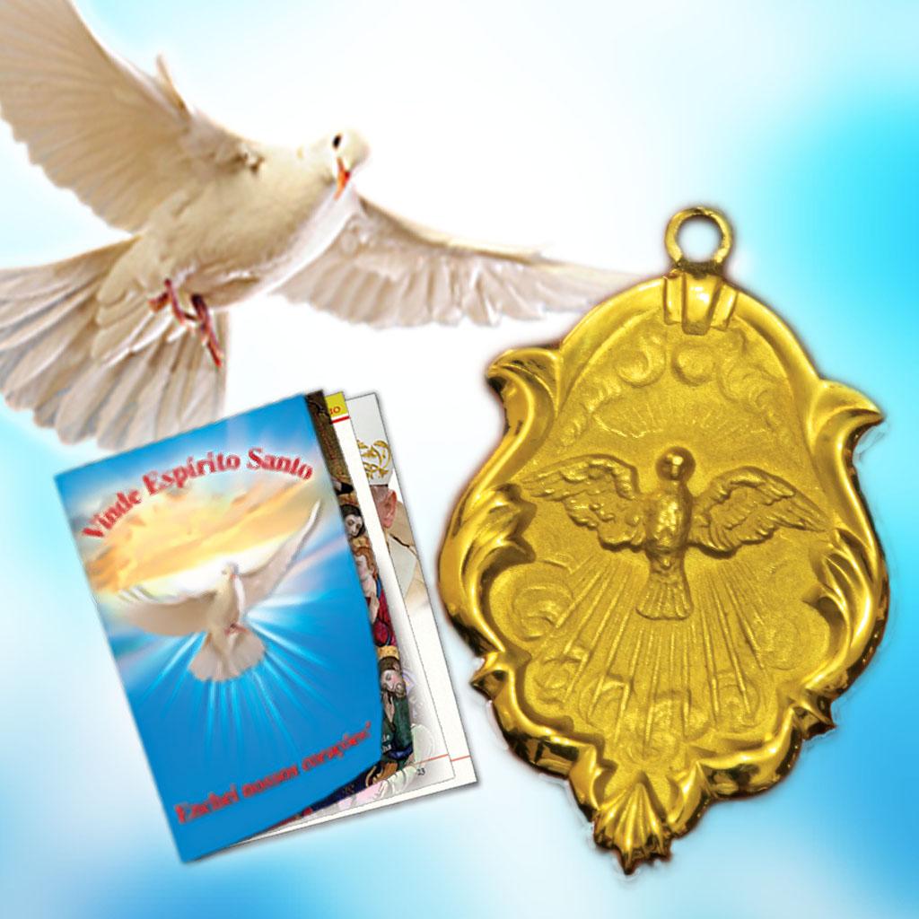 Livro e Medalha do Divino Espírito Santo