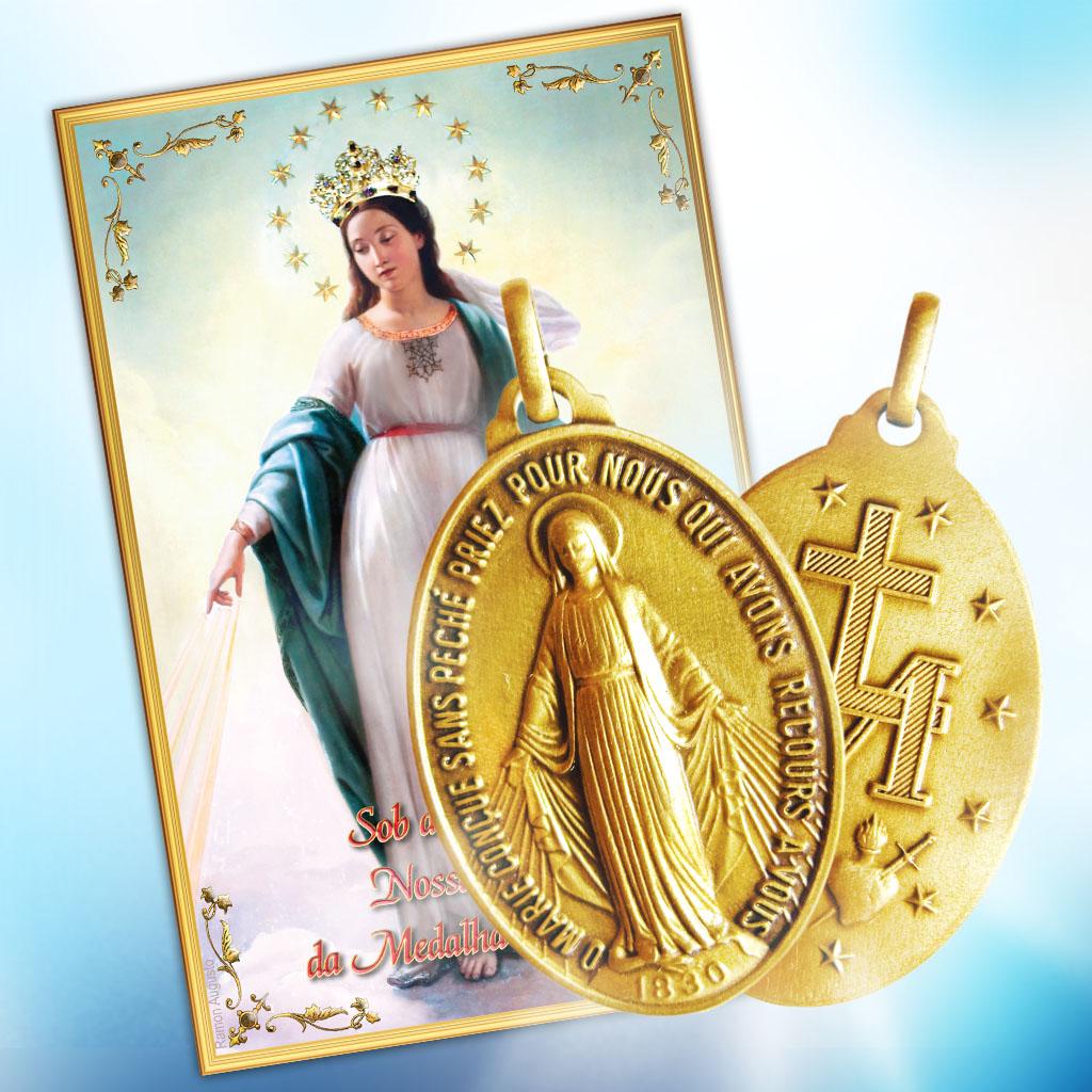Novena e a Medalha Milagrosa
